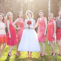 Свадебный образ для Катерины. Свадебная прическа и макияж: Любовь Лукина, ободок с цветами: шоу-рум Lunaroom