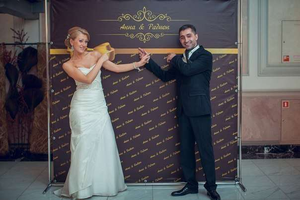 баннер крепится на метал.каркас - фото 3207817 Компания Троя - организация свадеб