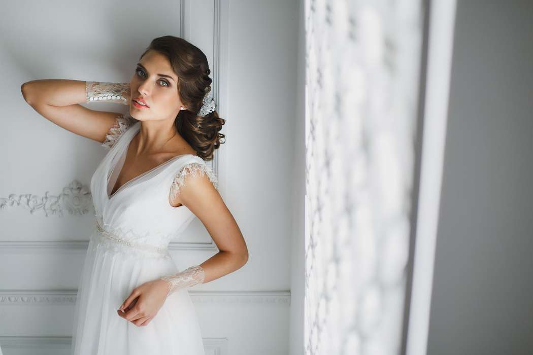 Свадебный образ невесты в греческом стиле фото