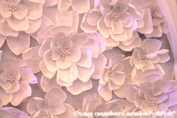"""Столовая Амкодор. Минск. """"Цветочная свадьба"""" - фото 2921157 Студия свадебного дизайна PyshPysh"""