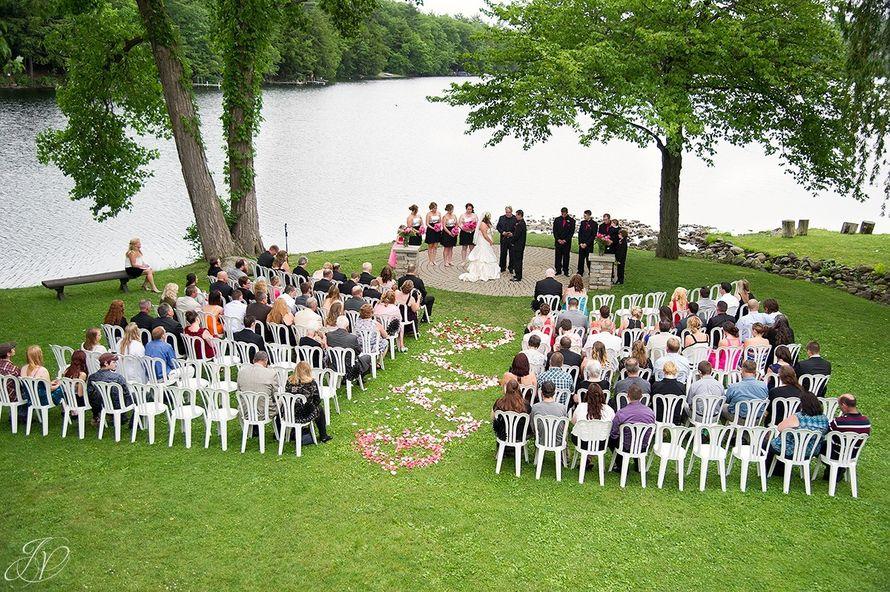 Аэросъёмка свадебного дня в 4K