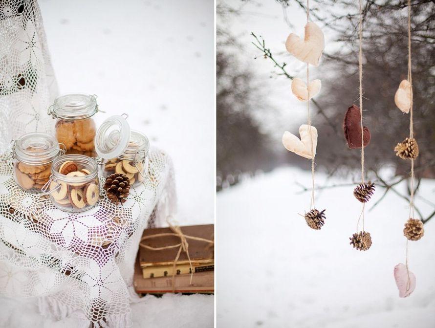 Декор для зимней фотосессии своими руками