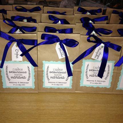 Бонбоньерки (подарки гостям на свадьбу)