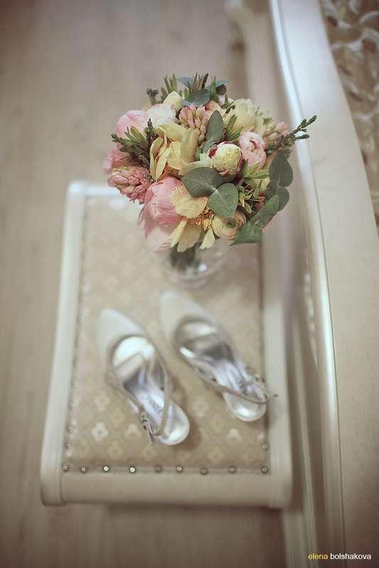 """красивый букет для свадьбы """" Акварельные прогулки по Питеру"""" - фото 1264305 Фотограф Елена Большакова"""