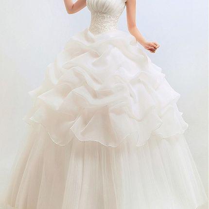 """Свадебное платье """"Бусинка"""""""