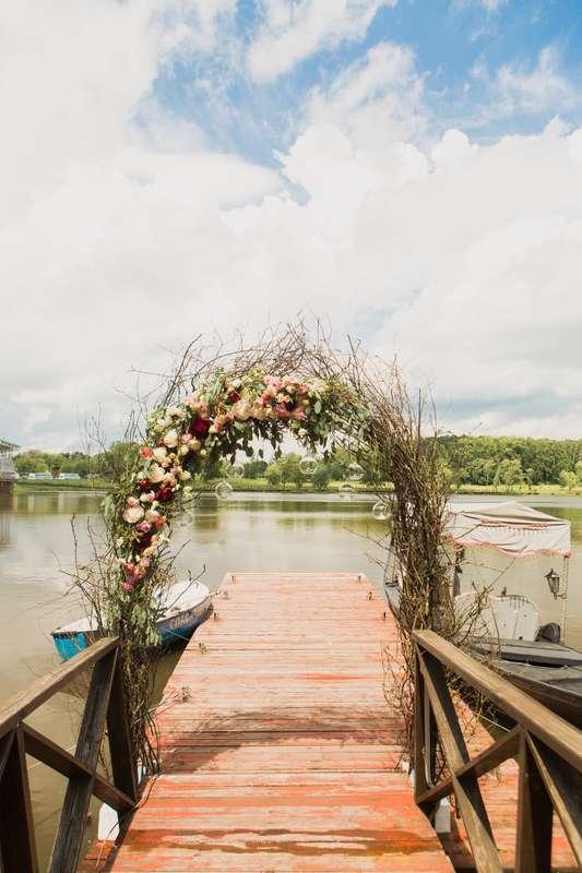 Фото 17046080 в коллекции Свадьба Антона и Екатерины 1.07.17 - Студия декора и флористики Page of love