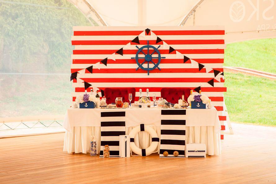 морская свадьба - фото 7954582 Студия Декора Дайте 2