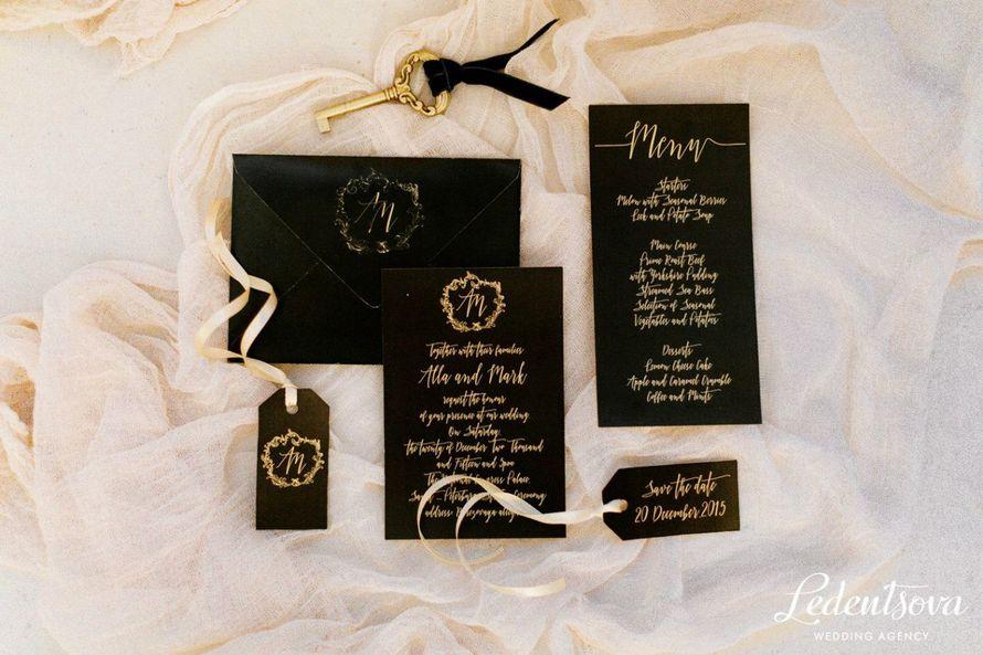 Фото 16452422 в коллекции Невеста была в черном - Ledentsova - wedding agency