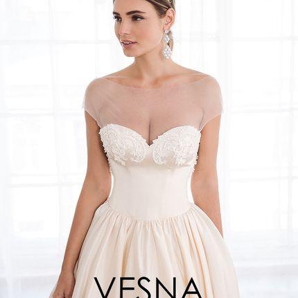 """Свадебное платье """"Барели"""""""