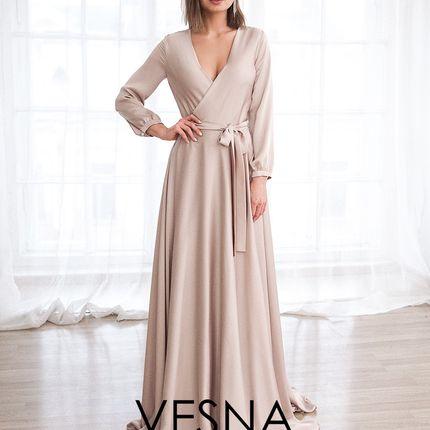 Платье Амальфи Нюд