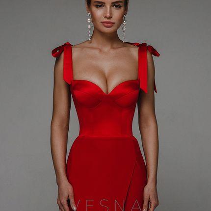 Вечернее платье Жизель Руж