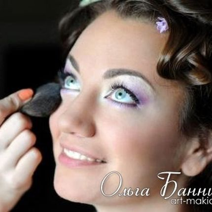 Свадебный и вечерний макияж