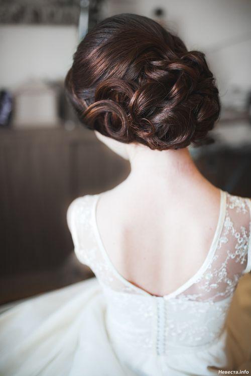 Скромные прически свадьбу