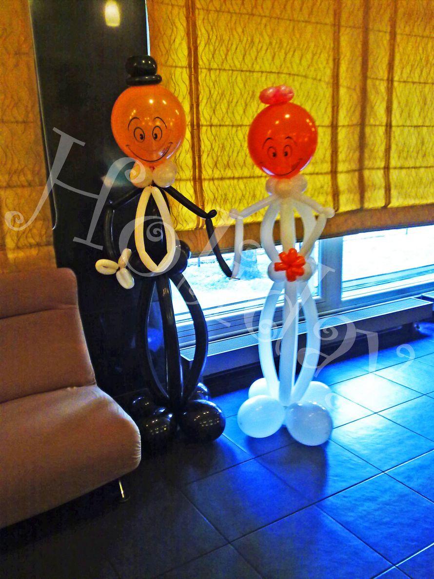 Фото 3085245 в коллекции Свадьба - Holiday - оформление воздушными шарами