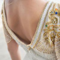 Отделка платья