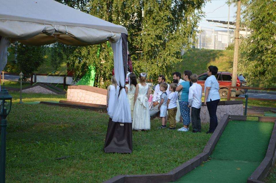 Дети на свадьбе - фото 7510832 Мелисса Флеминг - шатёр