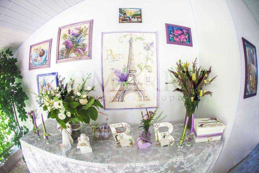 Свадьба в стиле Сиреневый прованс - фото 3170177 Vimarry студия декора