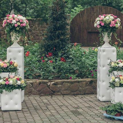 Мягкие колоны для свадьбы