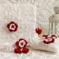 Аксессуары для зимней уютной свадьбы