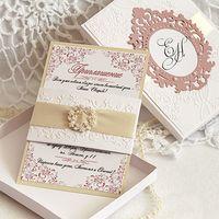 Приглашение -vip в коробке для родителей жениха и невесты