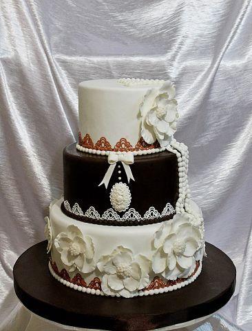 """Фото 3207337 в коллекции Мои фотографии - """"Торт с изюминкой"""" - свадебные торты"""