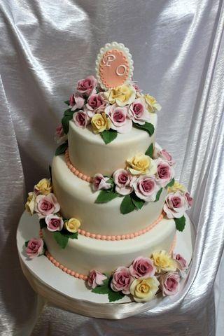 """Фото 3207371 в коллекции Мои фотографии - """"Торт с изюминкой"""" - свадебные торты"""