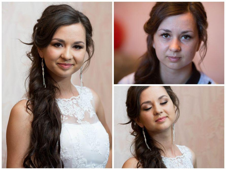 без фотошопа,свадебный макияж для Яны) - фото 5594134 Стилист Русанова Анна