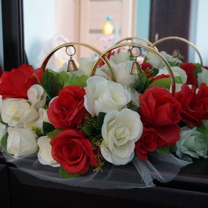 Кольца аренда Розы Красные на магните