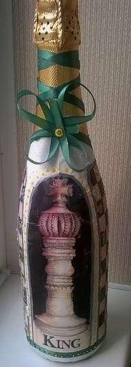 На Юбилеи) - фото 3218971 Bubbly- оформление шампанского