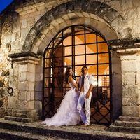 жених и невеста, съемка в Доминикане, ночь,  Альтос де Чавон
