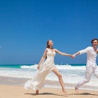 жених и невеста, съемка в Доминикане,  пляж Макао, океан, улыбка, любовь, счастье, молодость