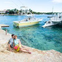 свадьба на острове Саона, Доминикана, любовь, море, закат, нежность