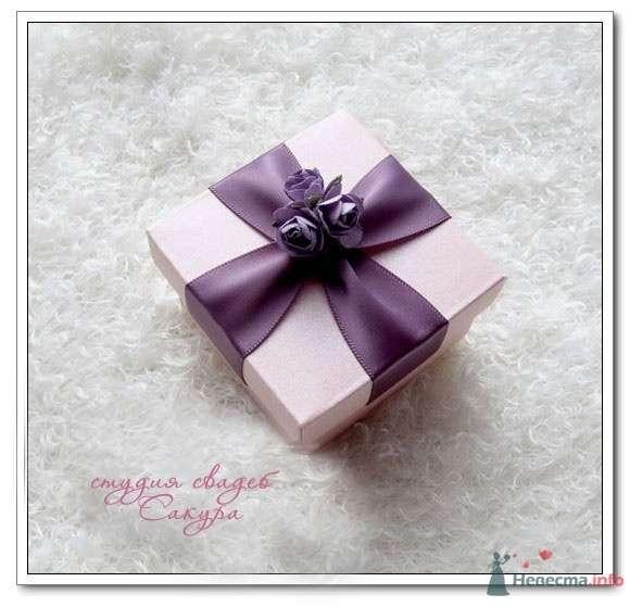 """Фиолетовая коробочка - фото 43584 Студии """"Сакура"""" - свадебные аксессуары"""