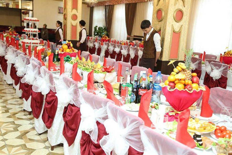 """банкетный зал на 1 этаже - фото 3229449 Бишкекский ресторан и банкетный зал """"Золотая Арка"""""""