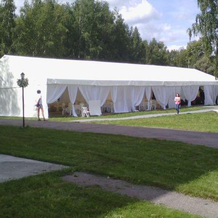 Аренда шатра на 160 гостей