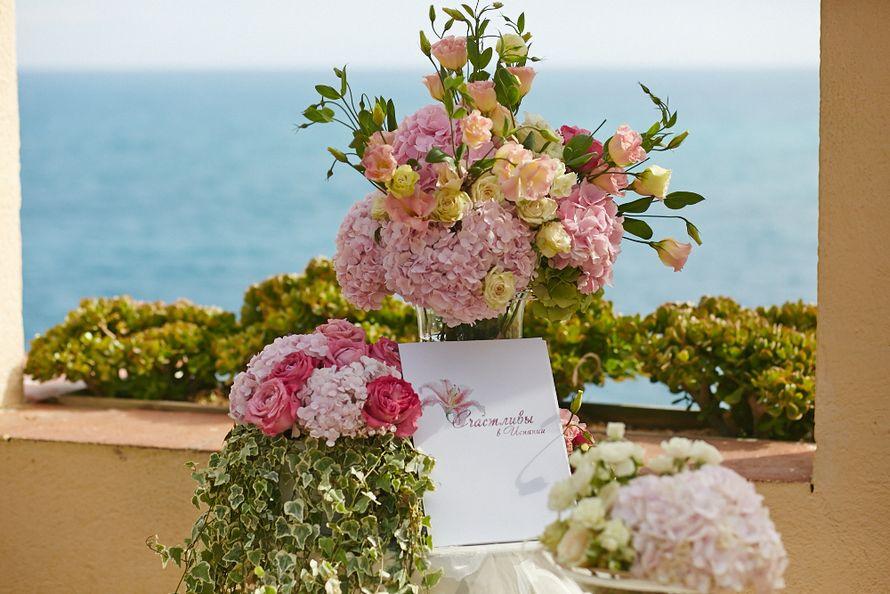 """Свадебные церемонии на берегу Средиземного моря в Испании. - фото 7088736 Агентство """"Счастливы в Испании"""""""