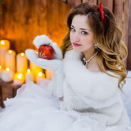 Организация и декор свадьбы в стиле Белоснежка