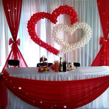 Оформление шарами на свадьбу Луганск
