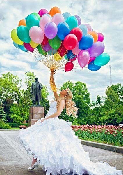 Гелиевые шары на свадьбу Луганск