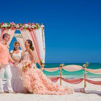 """Свадебная церемония в Доминикане """"Коралловая нежность"""""""