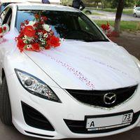 """Украшение  автомобиля невесты """"Гармония""""."""