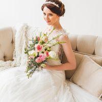 """Стиль, макияж, прически: салон красоты """"Времена года"""" Платья: свадебный центр SOVANNA"""