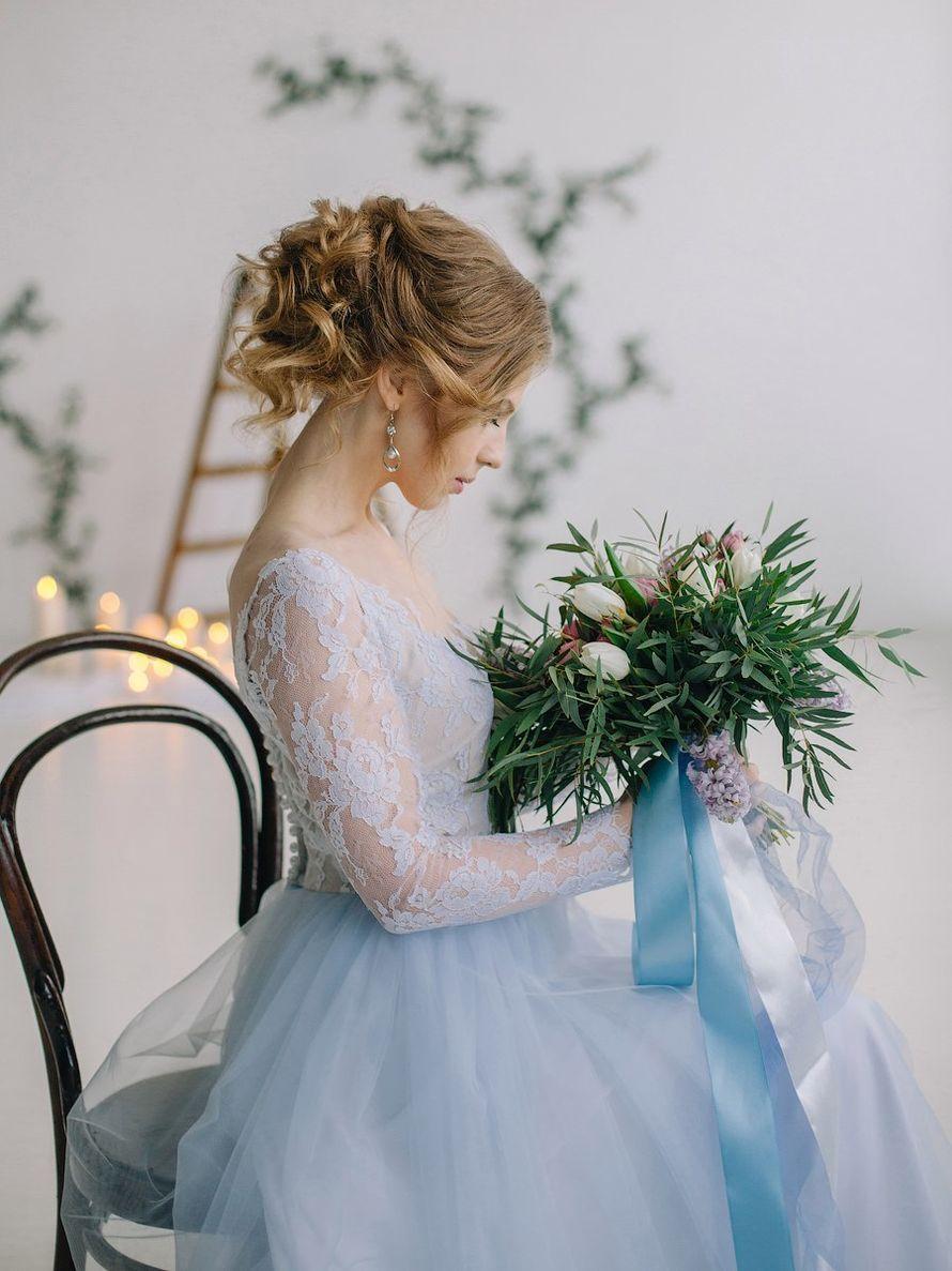 Свадебное платье в наличии! Идеально под параметры: грудь 88-92, талия до 69 см, рост от 165, цена 26000 руб. - фото 16262474 Kosmi bridal - свадебные платья