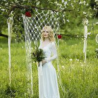 свадебное платье в стиле бохо в наличии, размер 42-44, рост 175-185, цена 28000р.