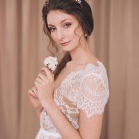 кружевное будуарное платье в наличии, цена 7500 руб.