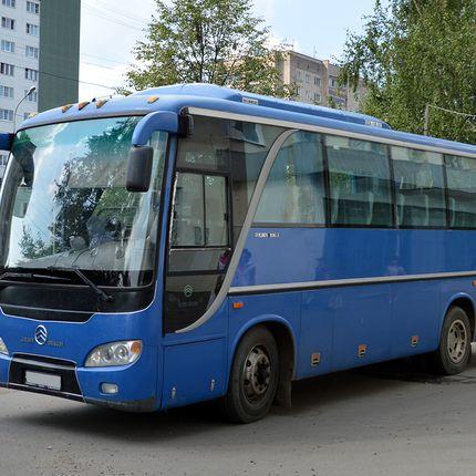 Аренда автобуса Golden Dragon, 4 часа