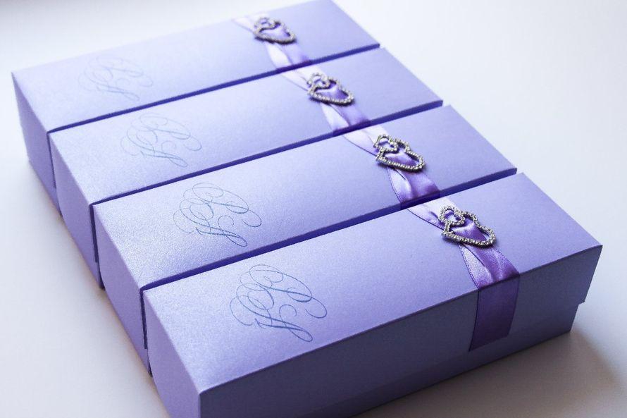 """Приглашение свиток в коробочке - фото 7100114 Полиграфия и аксессуары """"Мастерская приглашений"""""""