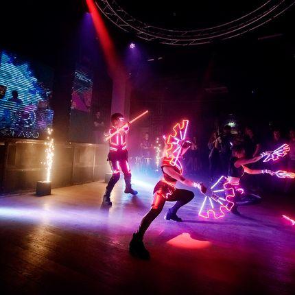 Световое шоу Самураи