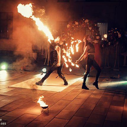Фаер шоу Blaze (2 артиста)
