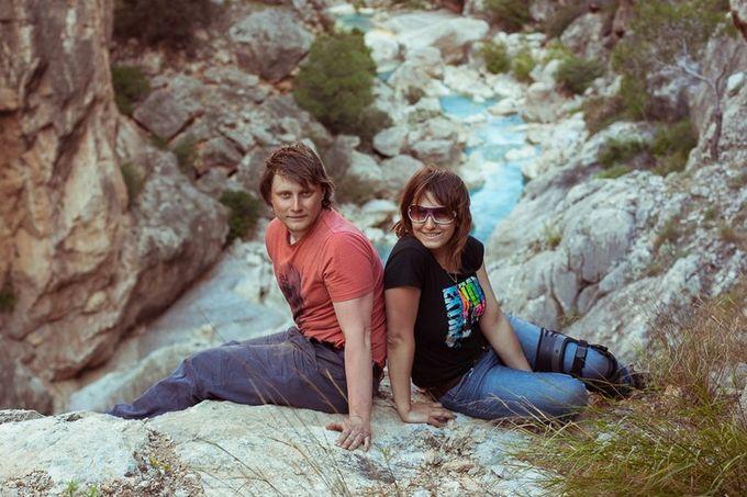 ущелье реки Гексу в Турции